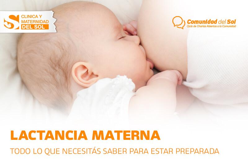Lactancia Materna - Todo lo que necesitas para estar preparada