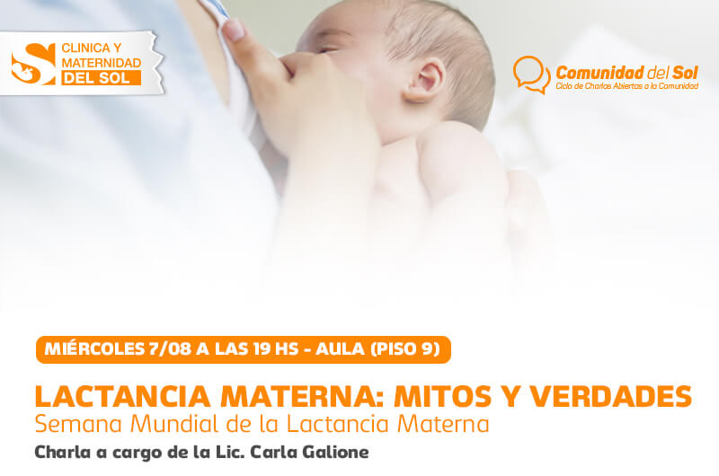 Lactancia Materna: Mitos y Verdades