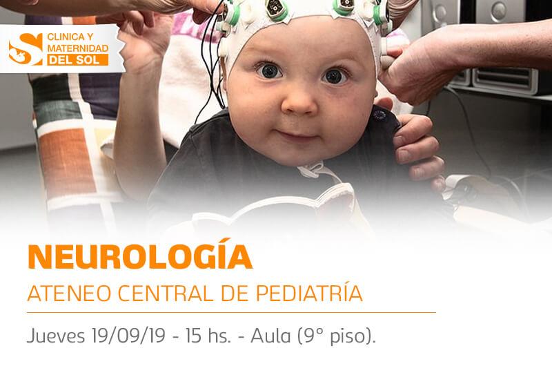 Ateneo Central de Pediatría sobre Neurología