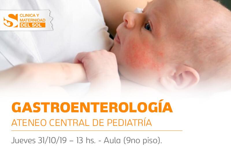 Ateneo Central de Pediatría: Gastroenterología