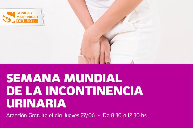 Semana Mundial de la Incontinencia Urinaria